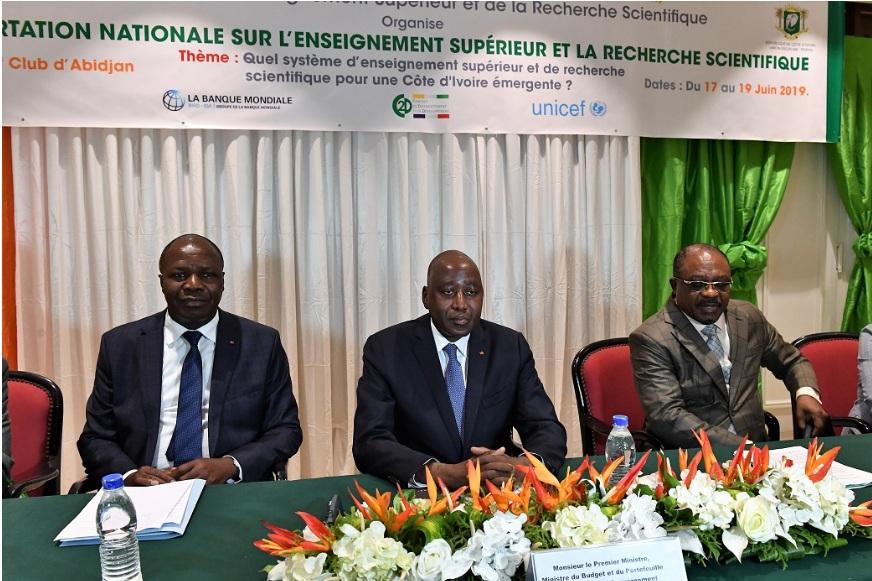 ENSEIGNEMENT SUPERIEUR : LE PREMIER MINISTRE AMADOU GON COULIBALY RECOMMANDE DES SOLUTIONS NOVATRICES