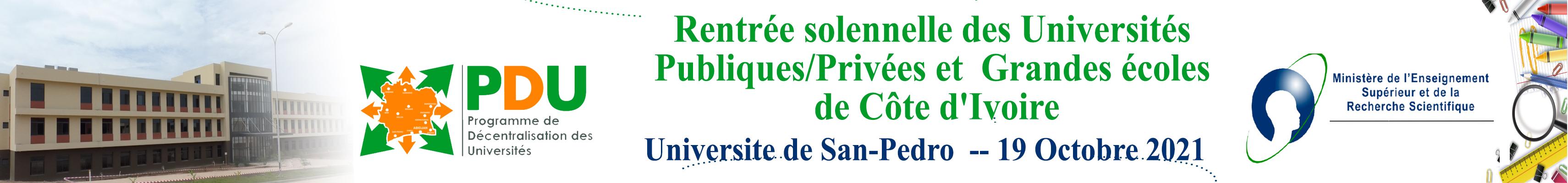 Programme De Décentralisation des Universités